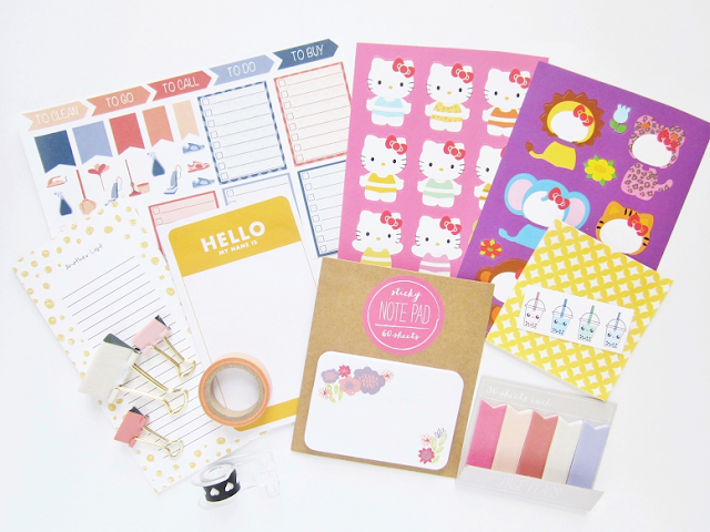 My First Stationery Giveaway