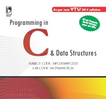 PROGRAMMING IN C AND DATA STRUCTURES (15PCD13/23) CBCS SCHEME AND