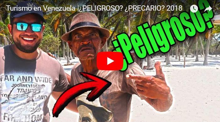 Turista vino a hacer un video de lo barato y bueno que sale viajar al Parque Nacional Morrocoy