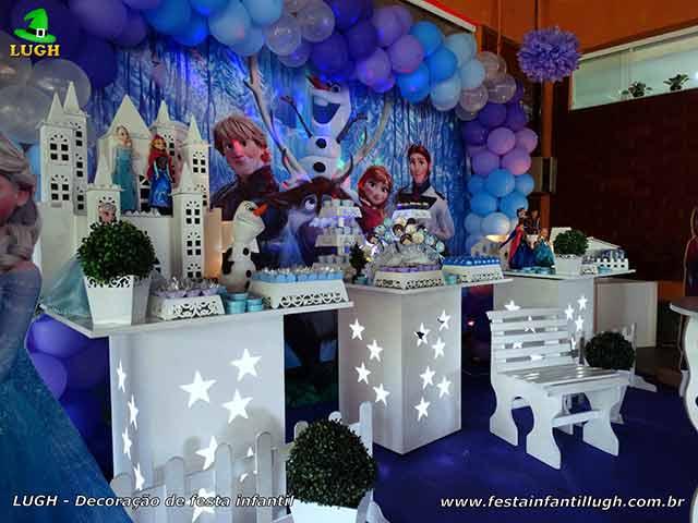 Decoração infantil Frozen - festa de aniversário
