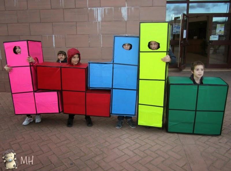 Disfraz de Tetris para grupo