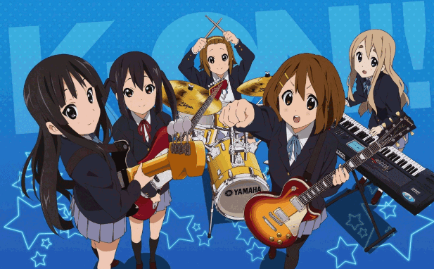 Anime Slice of Life Comedy Terbaik - K-on