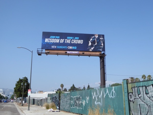 Wisdom of Crowd TV billboard