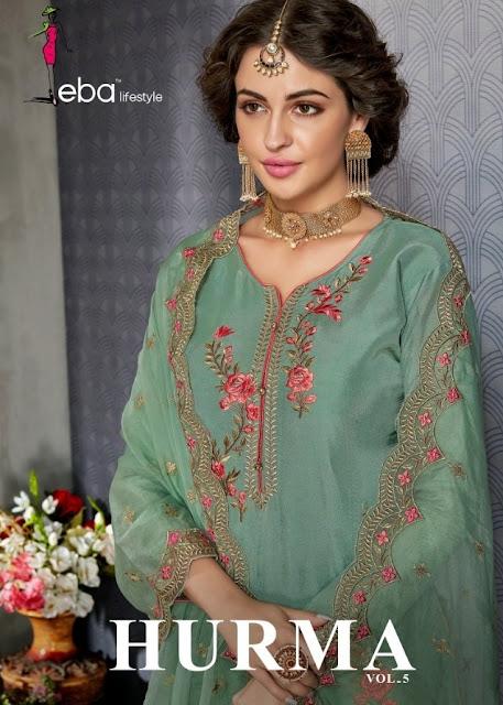 Eba Lifestyle Hurma vol 5 Bridal Salwar kameez