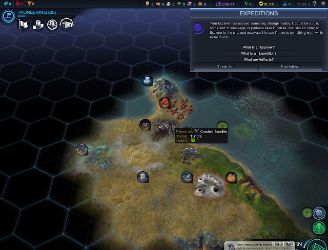 Civilization: Beyond Earth  | Expeditions Screenshot