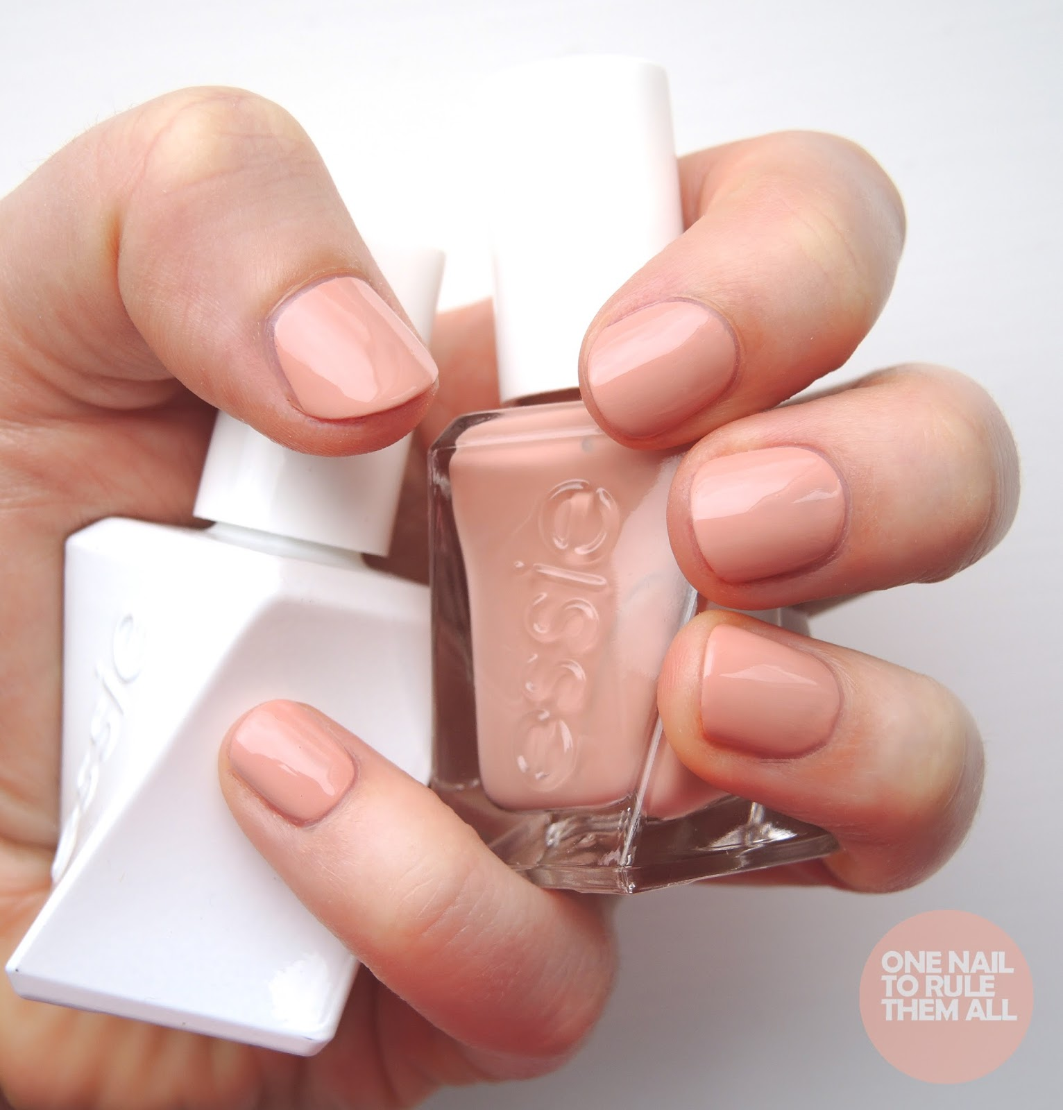One Nail To Rule Them All: Essie Gel Couture #essiexrankin
