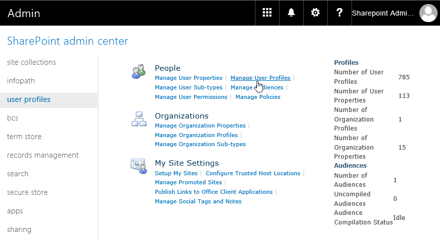 SharePoint online get all user profiles powershell