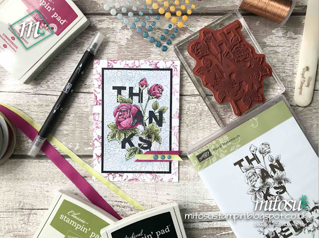 Stampin' Up! Floral Statements 2018 Order Stampinup SU Craft Supplies from Mitosu Crafts' Online Shop UK 3