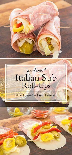 Keto Italian Rollups
