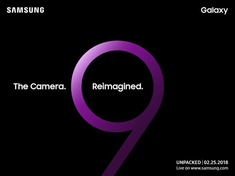 Samsung Galaxy S9 series will be released on Feb 25!