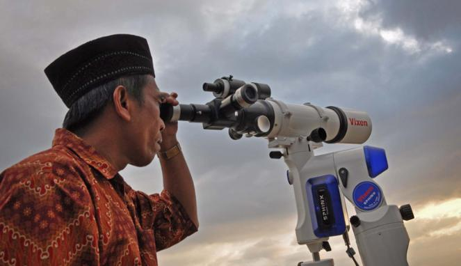 Teleskop untuk keperluan hisab rukyat ldii bangkalan