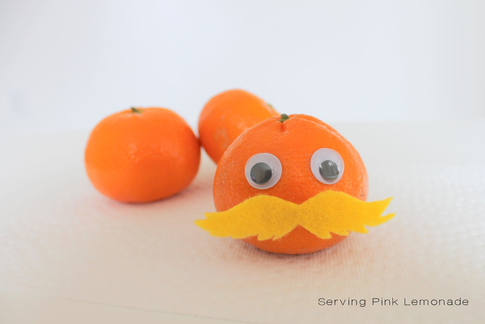 Simple and Healthy Dr. Seuss Lunch. The Lorax Orange.