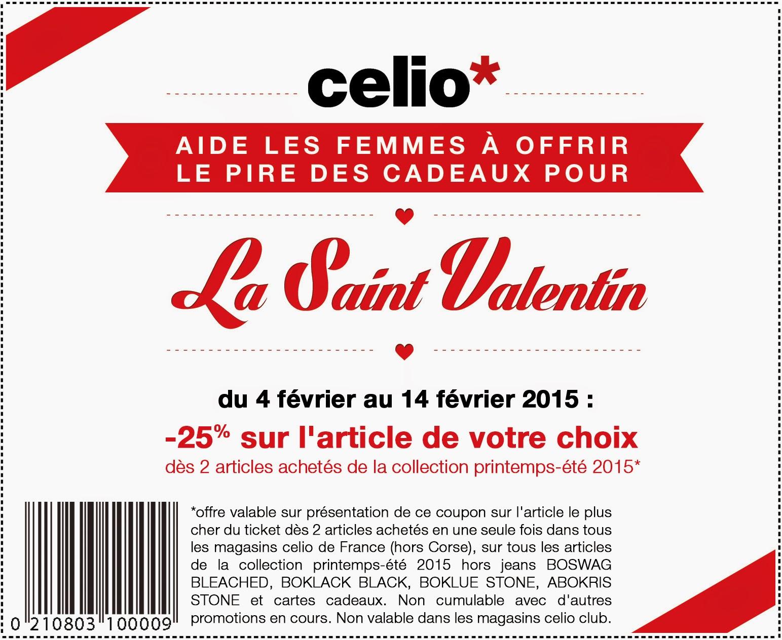 Célio invite les femmes à piéger leur Valentin