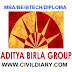OPENING IN ULTRA TECH CEMENT FOR DIPLOMA/BE/BTECH/MBA