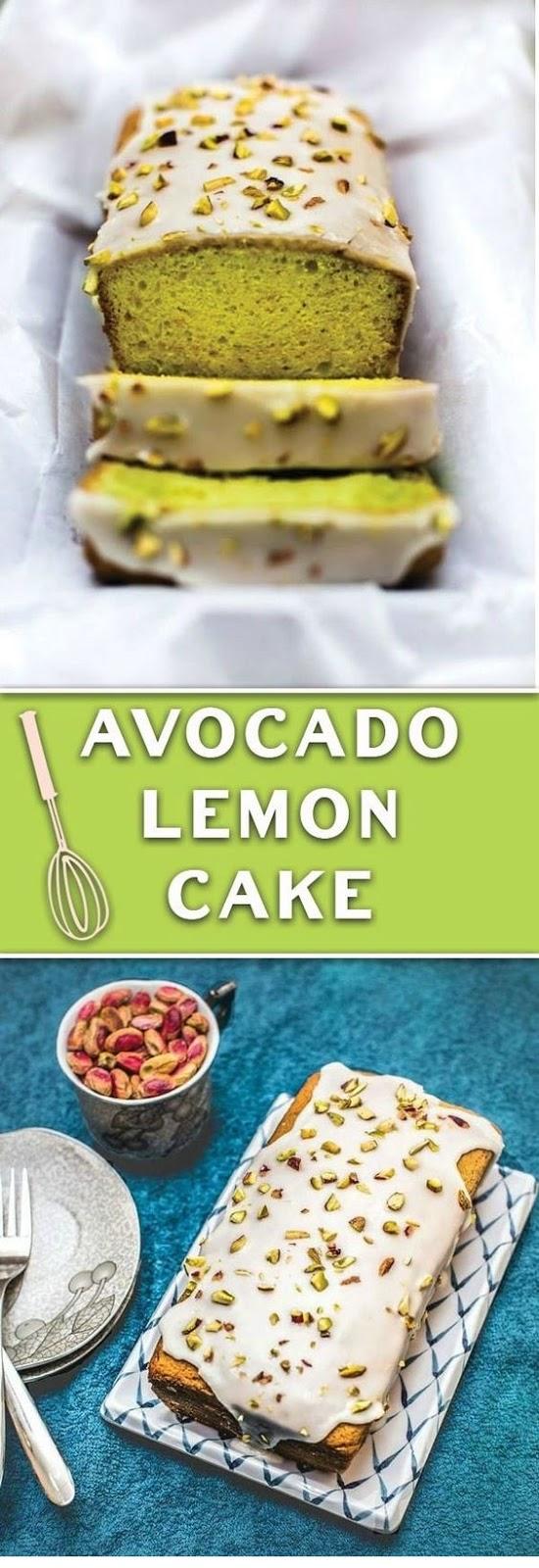 Avocado Lemon Cake