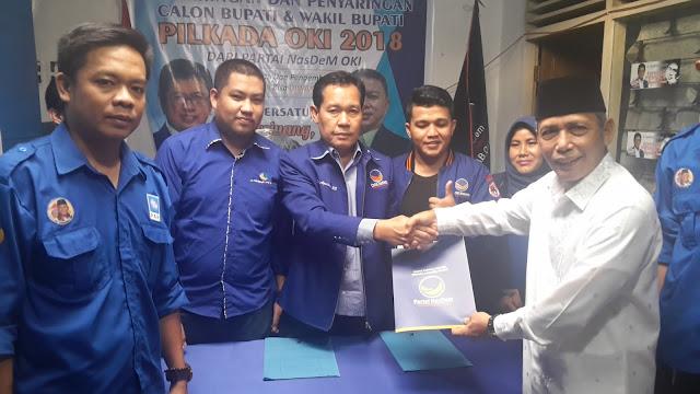 H Iskandar Ambil Formulir di Partai Demokrat & NasDem
