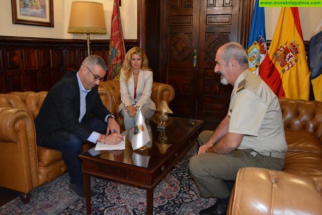 El Ayuntamiento agradece al Ejército la cesión de las maquetas de las fortificaciones defensivas de la ciudad