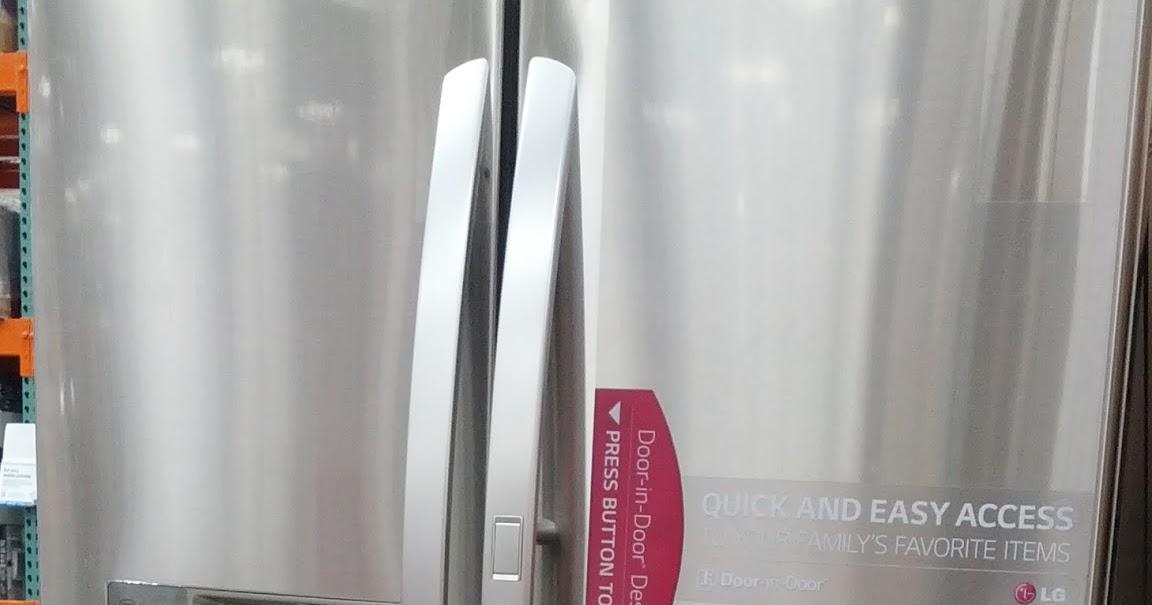 Lg Lfxs30766s French Door Refrigerator Costco Weekender