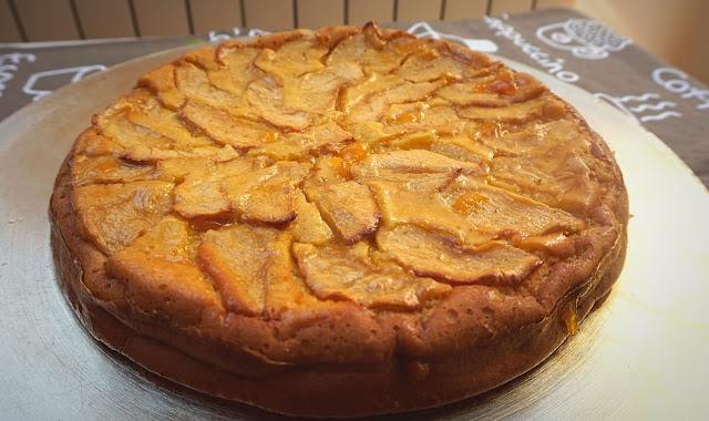 Tarta de manzana fácil al horno
