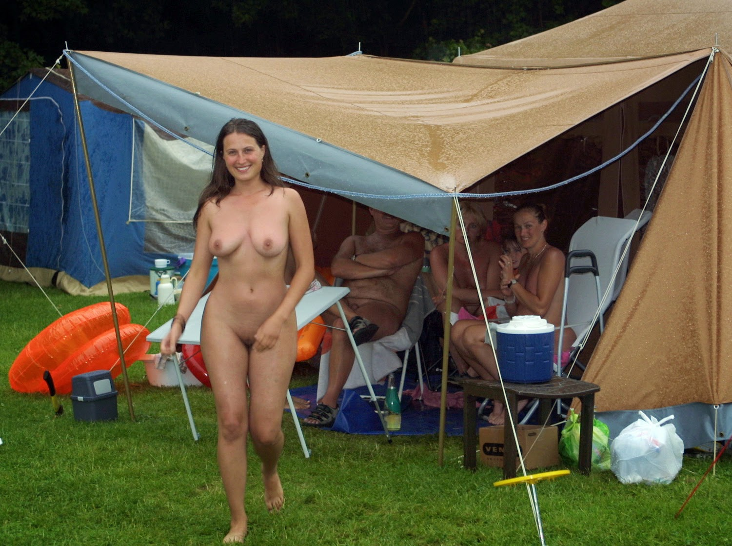 nudism camp family
