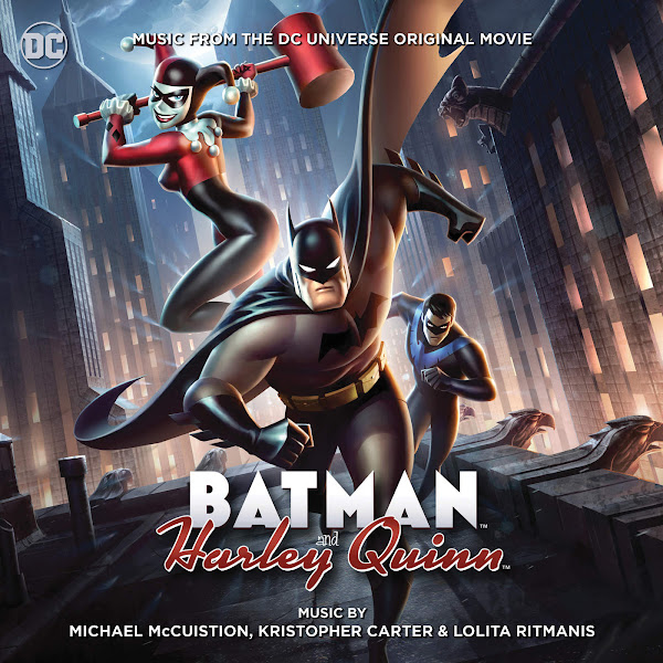 Michael McCuistion - Batman and Harley Quinn: Music From the DC Universe Original Movie Cover