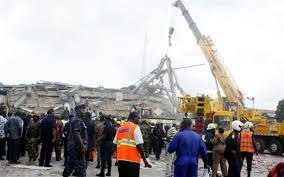 shopping mall collapse benin edo