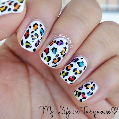 Rainbow-Leopard-Print-Nail-Art
