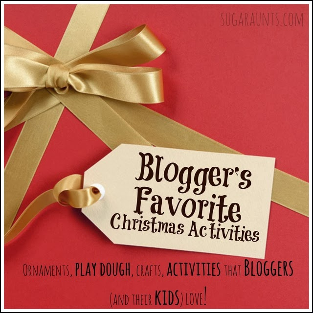Christmas crafts and activities that the Kid Activity Bloggers LOVE. Sugar Aunts