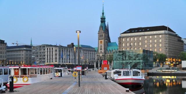 Como ir de Frankfurt até Hamburgo
