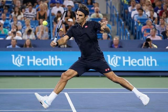Federer giành vé vào chung kết Cincinnati master