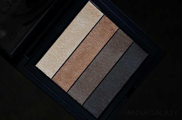 Gosh Smokey Eyes Palette 02 brown палетка теней для дневного макияжа