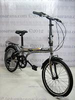 B 20 Inch Laux Venice 7 Speed Shimano Folding Bike