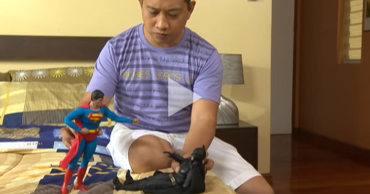 "Superman and Batman parody of ""My Husband's Lover"" courtesy of Pepito Manaloto"