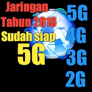 Jaringan 5G siap meluncur tahun ini (Kecepatan 40 x dari 4G)