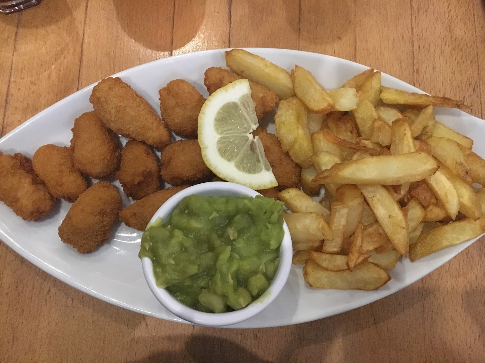 fish and chips north west england