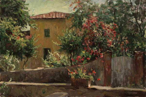 Leonard Wren Studio - Original Impressionist Paintings |Leonard Wren Paintings