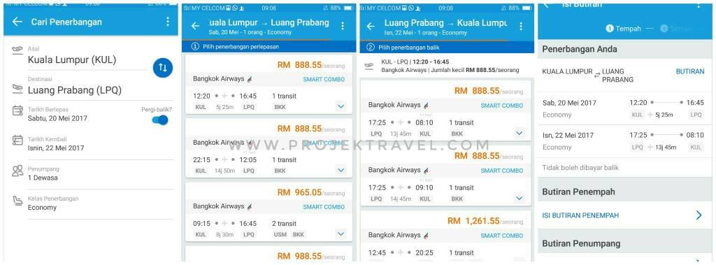 Aplikasi Untuk Cari Tiket Flight Murah Projek Travel