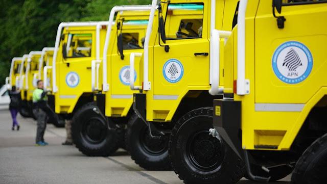 Nuevas autobombas para el combate de incendios forestales