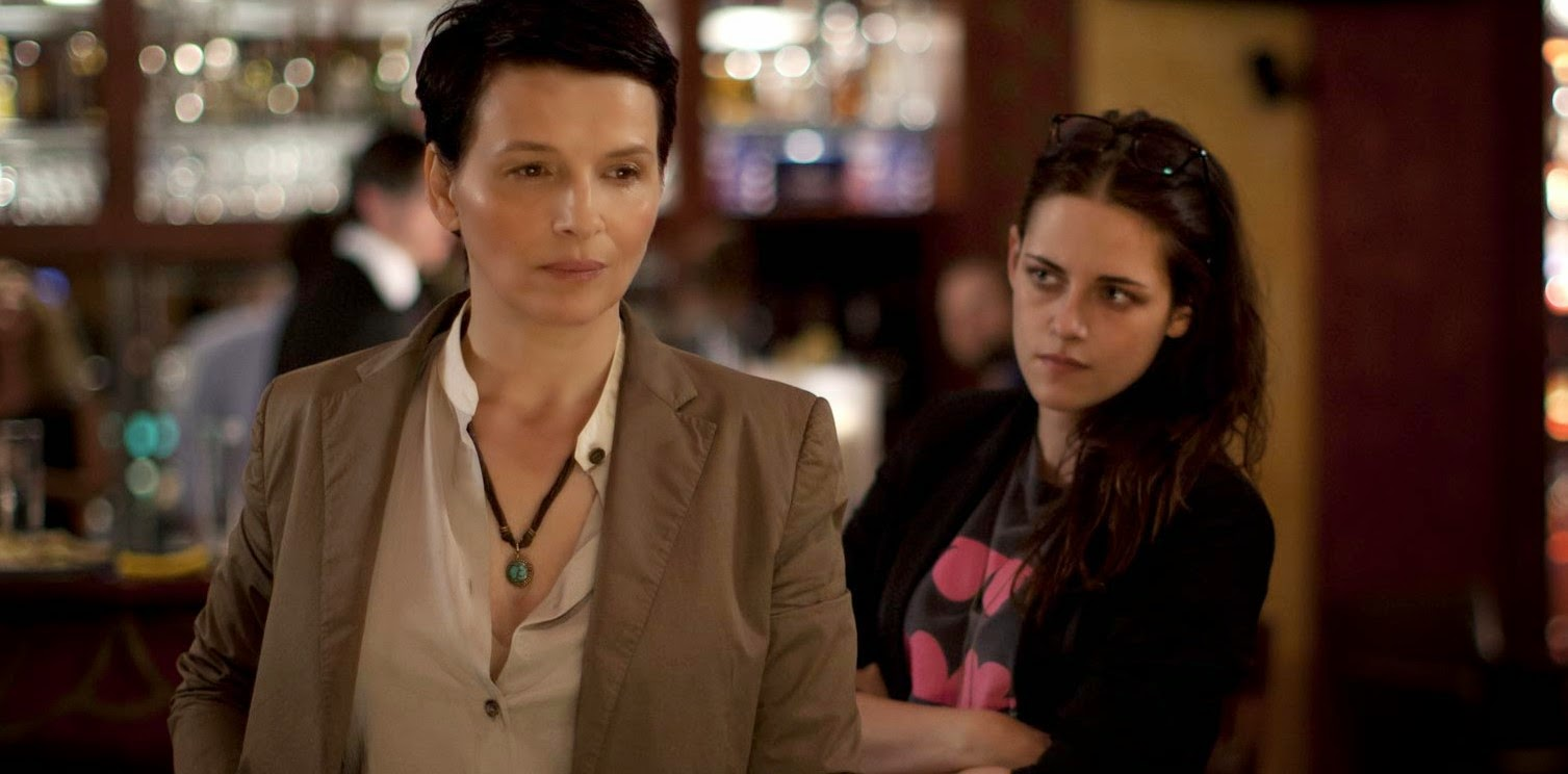 Kristen Stewart e Juliette Binoche no trailer de Clouds Of Sils Maria