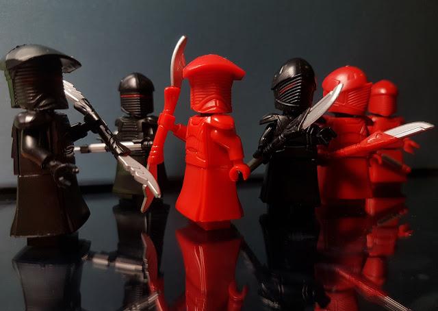 Elite Praetorian Guard Snoke guards First Order Star Wars, Red guard
