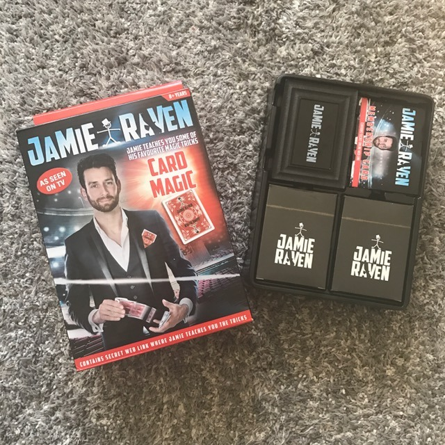 Jamie Raven Card Tricks