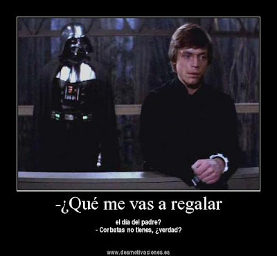 Darth Vader y Luke Skywalker