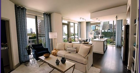 Stunning High Rise Apartments Atlanta Contemporary - Interior ...