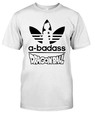 Dragon Ball Z Goku Adidas T Shirt