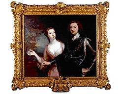 Picture of the real Duke and Duchess of Richmond