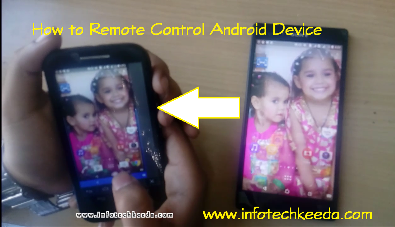 How To Remote Control Android Device 1