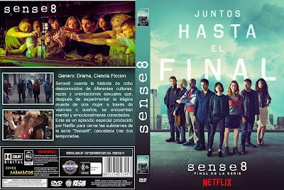 CARATULA [SERIE DE TV] SENSE 8 JUNTOS HASTA EL FINAL/TOGETHER UNTIL THE END - ESPECIAL FINAL DE SERIE 2018 [COVER DVD]