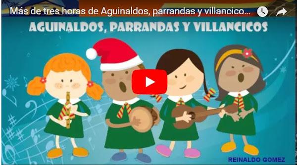Más de tres horas de Aguinaldos Venezolanos para usar en la cena de Navidad