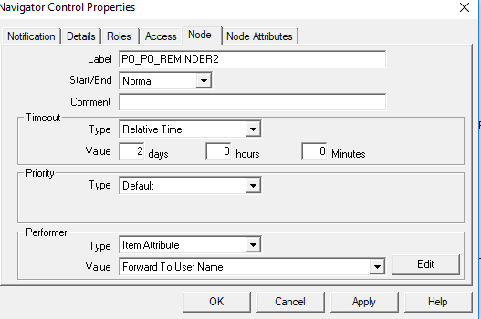 How to Set PO Time Out Fuctionality in Oracle Apps Workflow