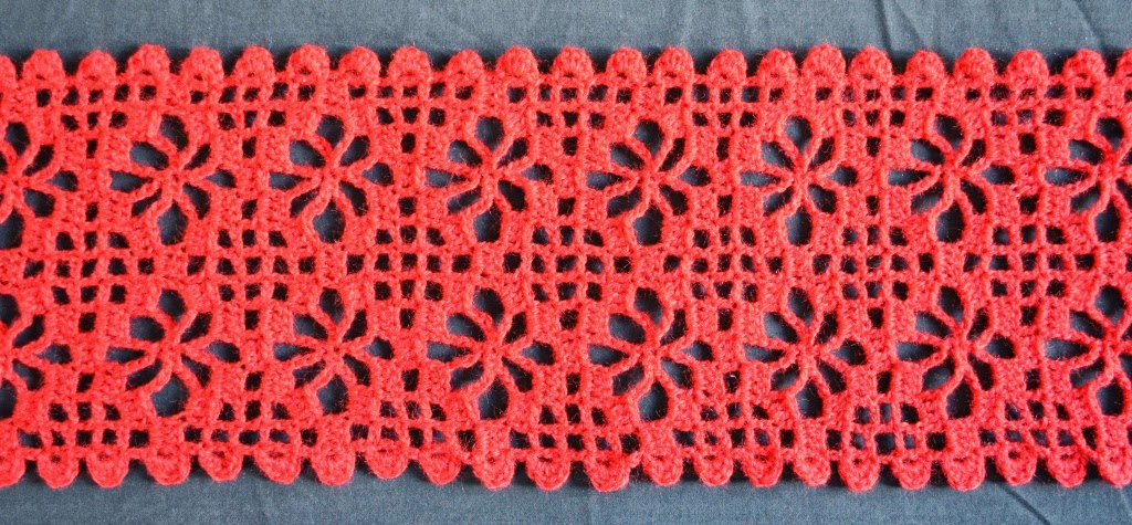 Lupey Loops More Examples Of Crochet Spider Stitch